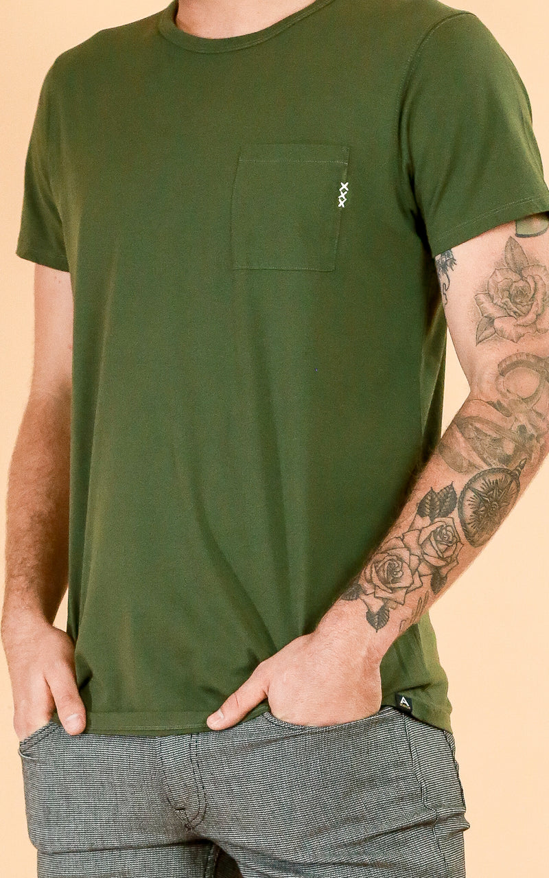 Pocket Tee in Embro