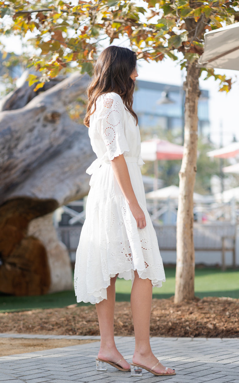 Lala Linen House Dress