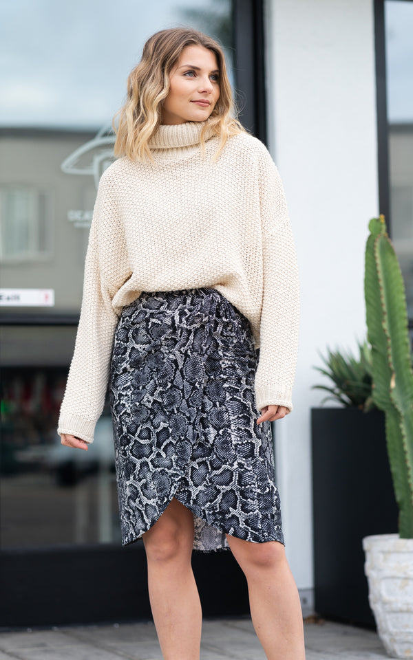 Anjolie Wrap Skirt