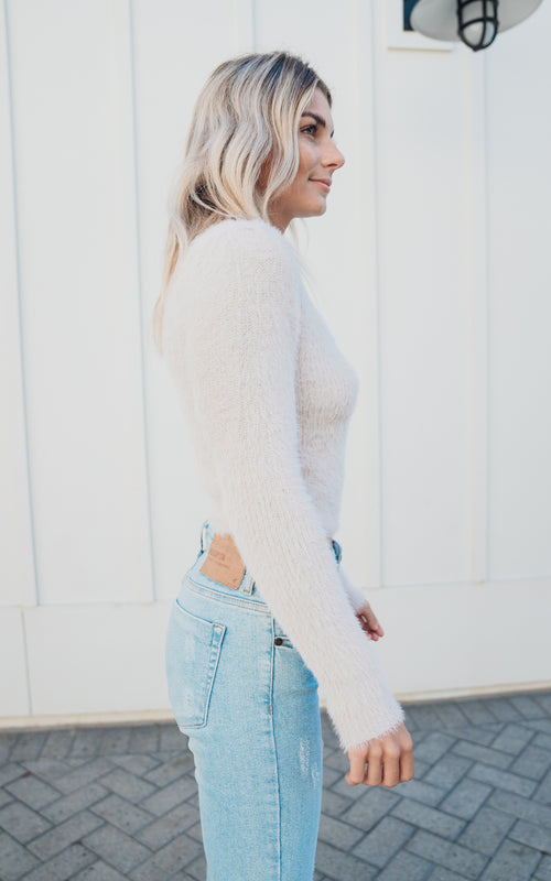 Chalk Belle Sweater
