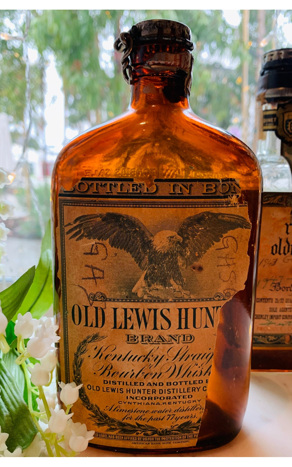 Old Lewis Hunter bottle