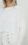 White Cropped Thermal