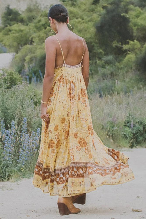 Mystic Strappy Maxi Dress