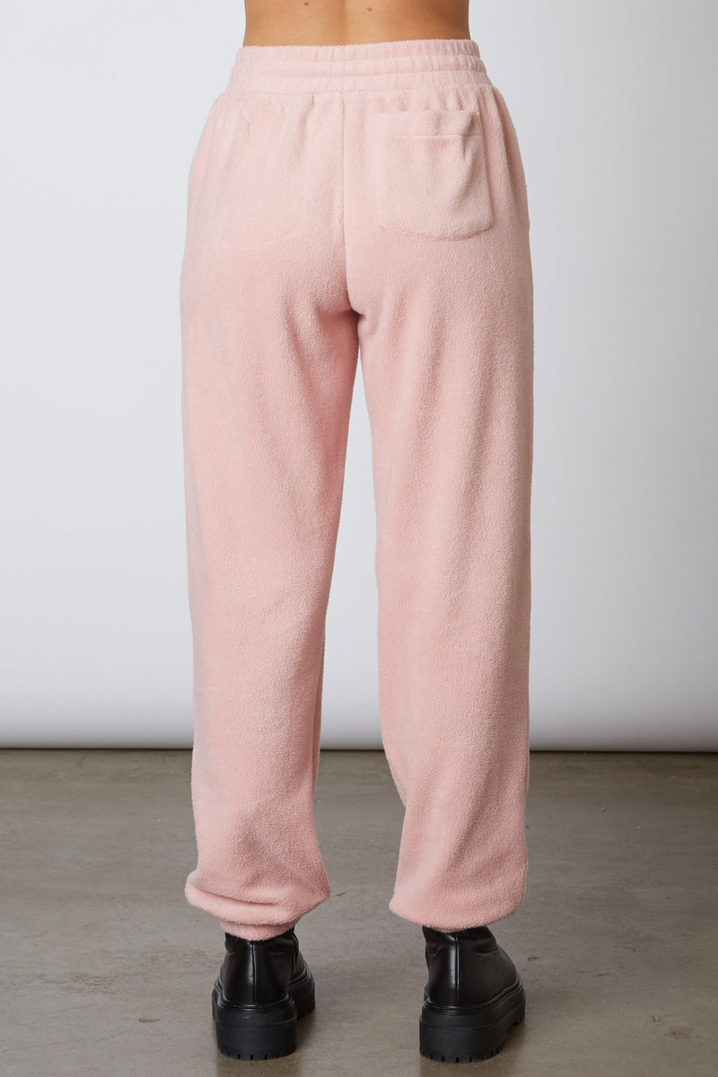 Fleece Jogger Blush