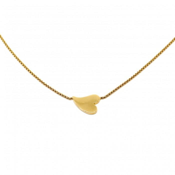 Hera Heart Sideways Necklace