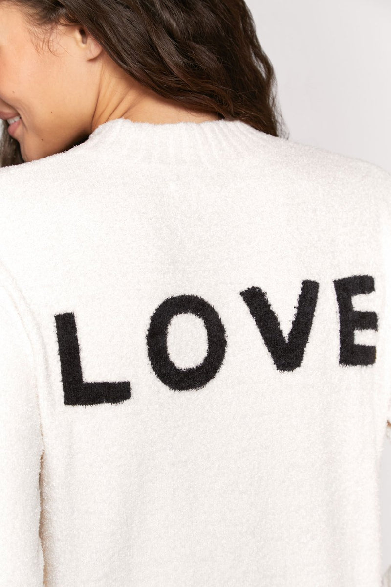 Love Sweater Stone