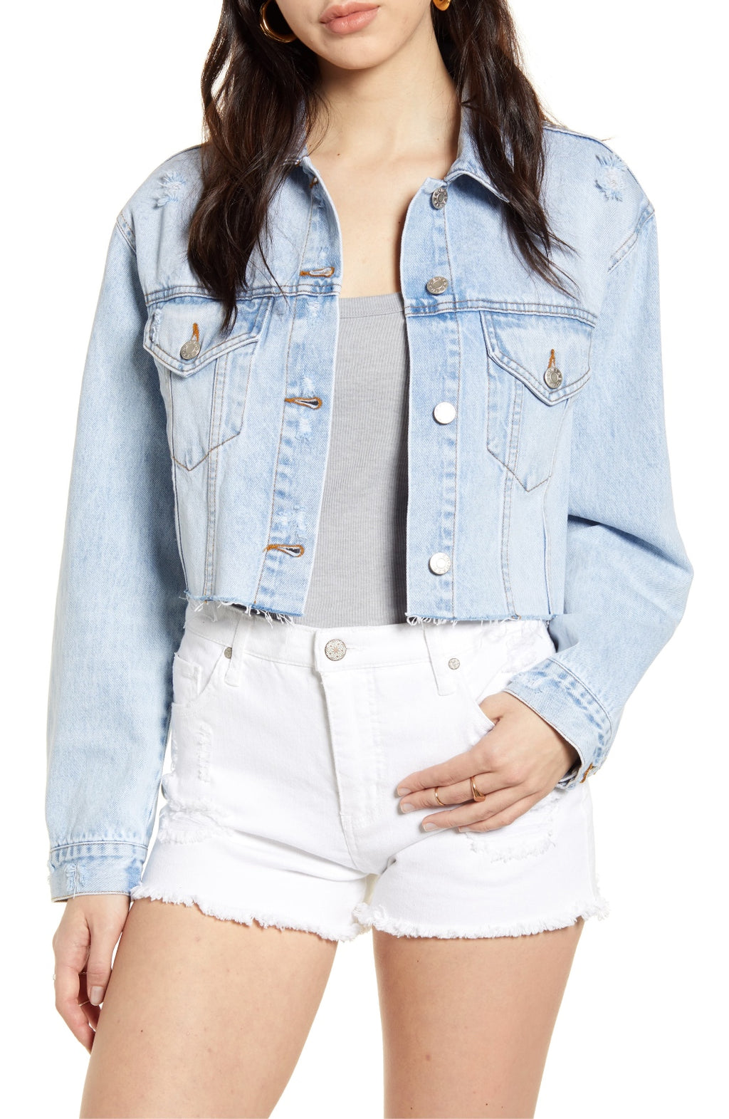 Slow Kissing Ex Boyfriend Crop Jacket