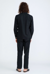 Corridor Linen Shirt in black