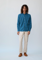 Corridor Button Down Shirt in indigo