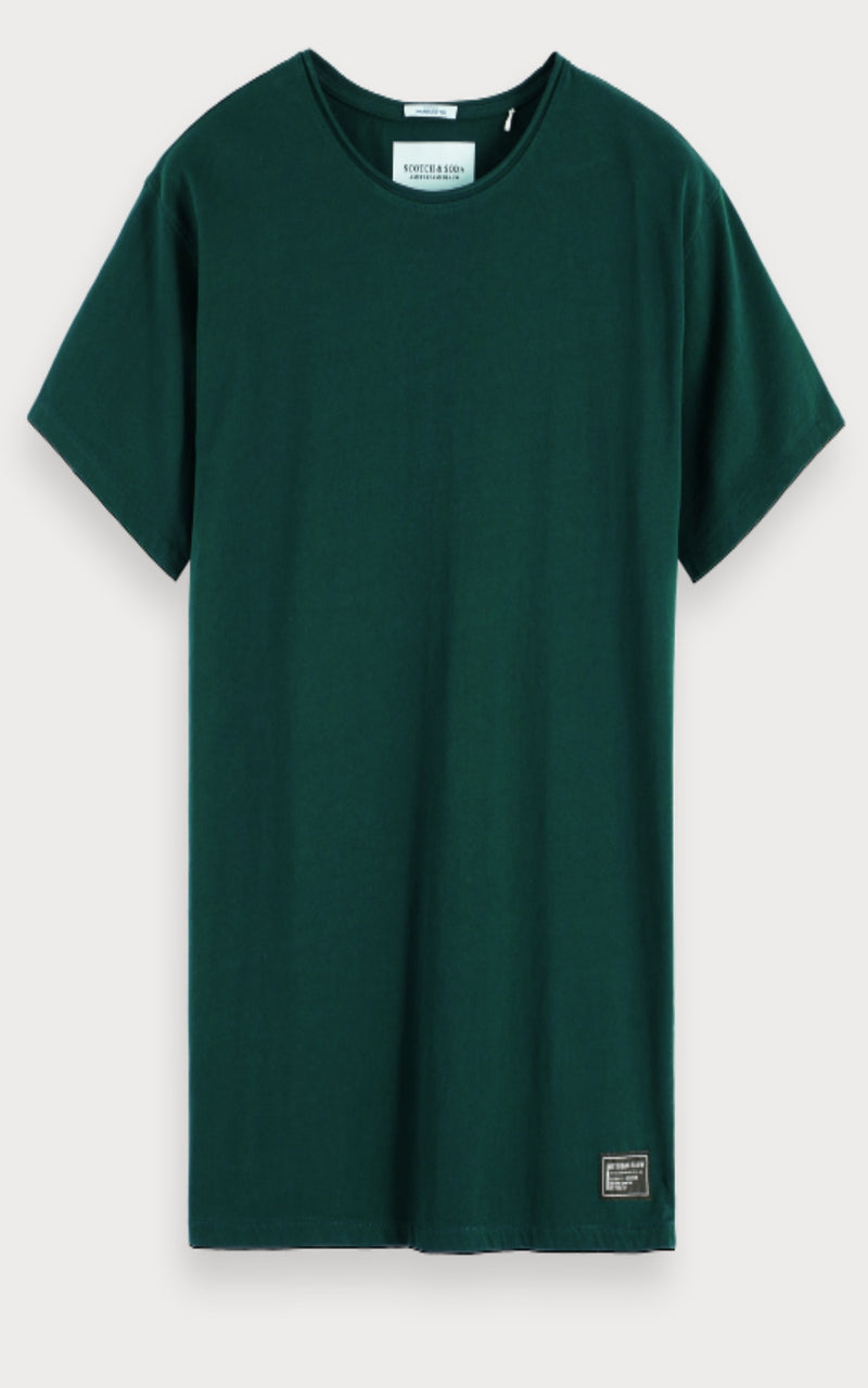 Green Organic Cotton Tee