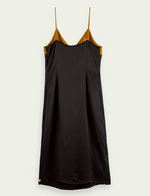 Midi Wrap Detail Slip Dress