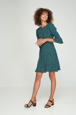 Natalie mini heart dress Basil