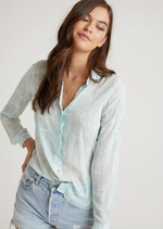Havana Olive Palm Button Down Shirt