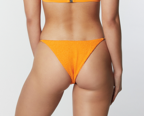 90s Orange Crinkle Bottom