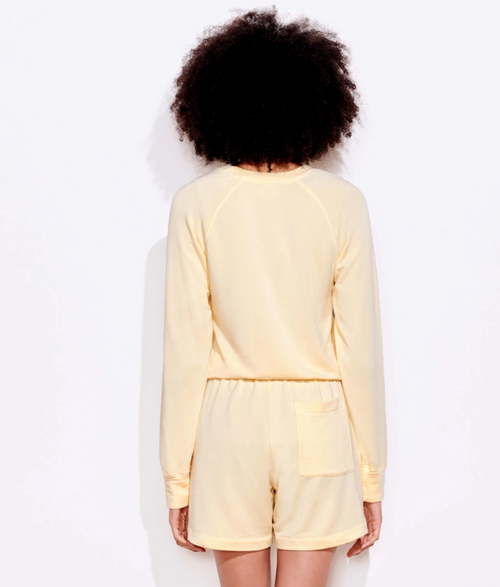Cropped Sweatshirt Canary