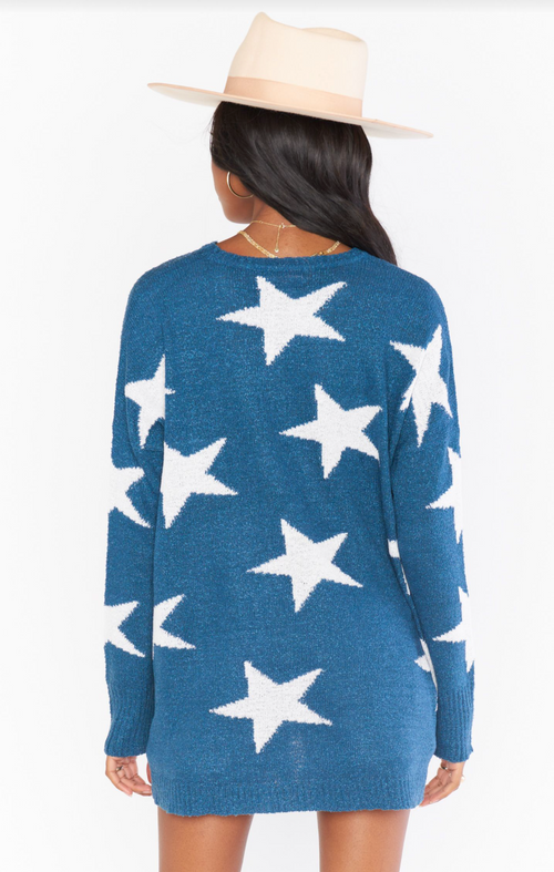 Bronson Sweater Blue
