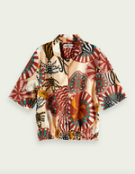 Underwater Printed Viscose Shirt