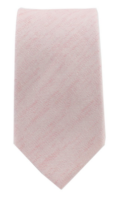 Blush Cloud Tie - Whiskey & Leather