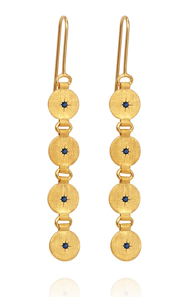 Atlas Earrings Gold
