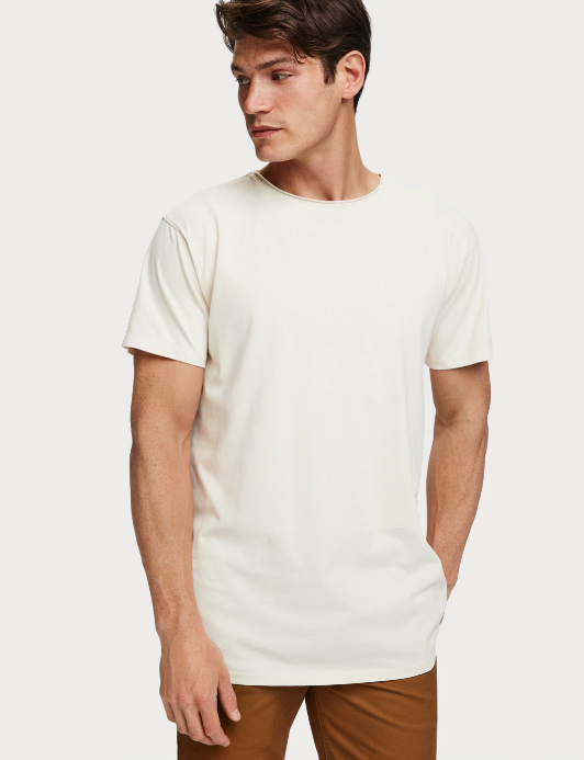 Ecru Organic Cotton Tee