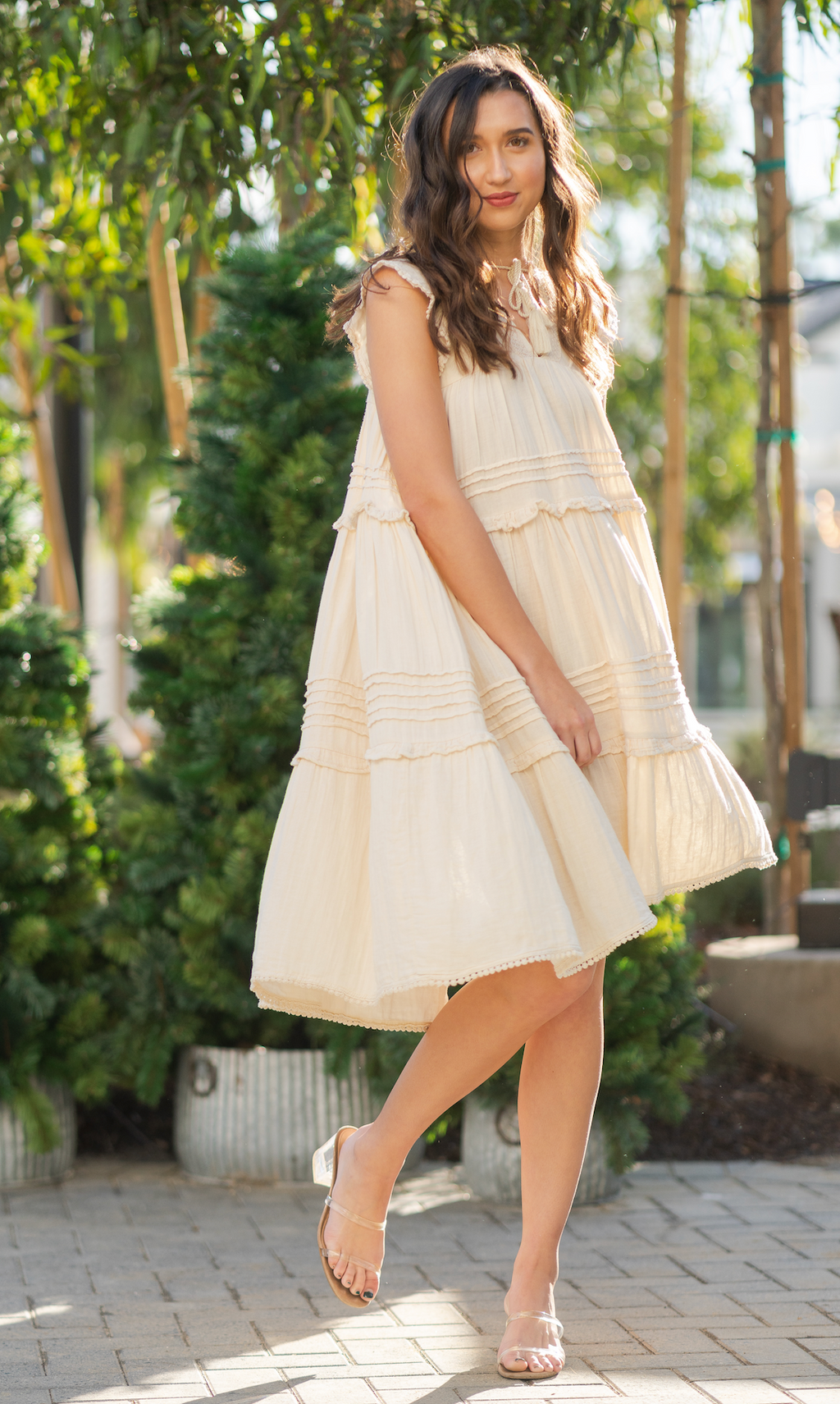 Hanalei Midi Dress Sand