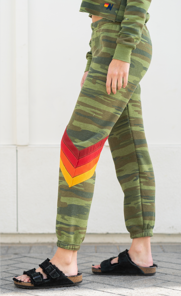 Camo Chevron Sweatpant
