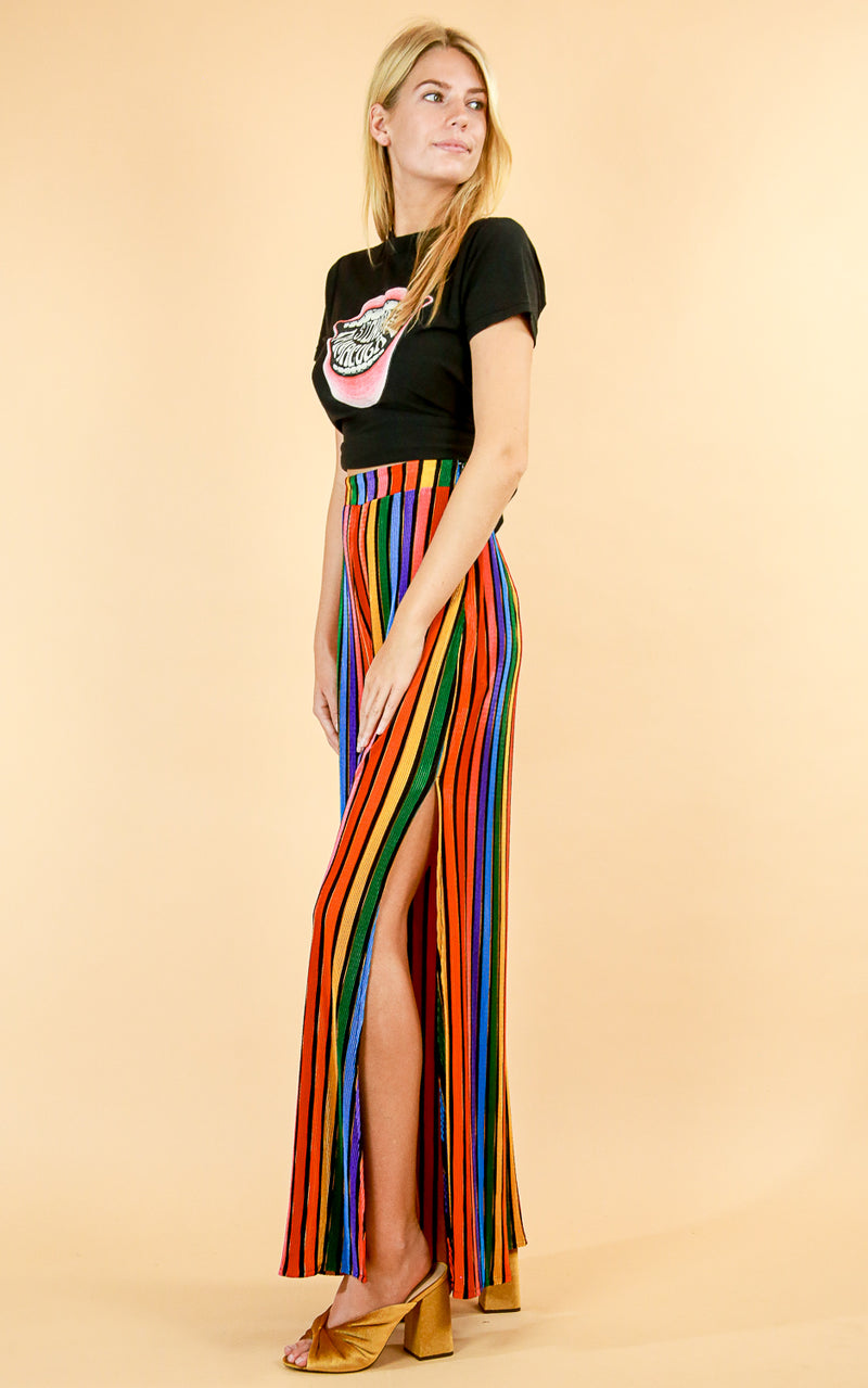Rainbow Parade Pleat