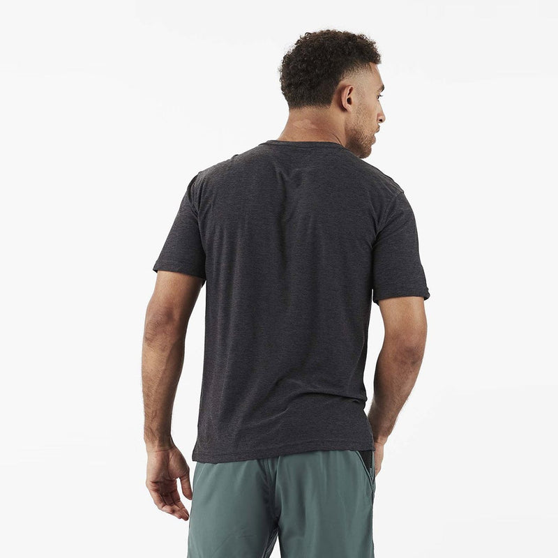 Strato Tech Tee Charcoal Heather