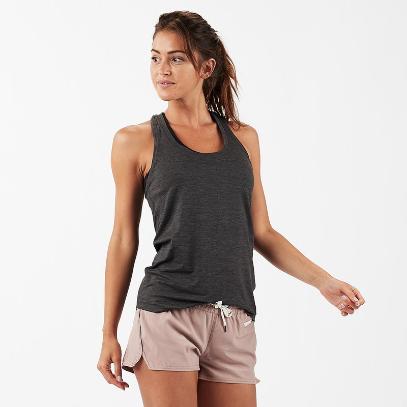 Lux Performance Tank Charcoal