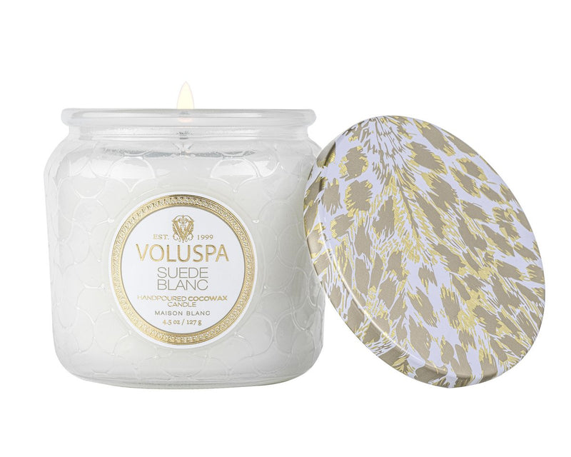 Suede Blanc 4.5 oz Jar Candle