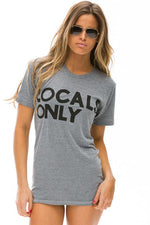 Grey Locals Only Tee