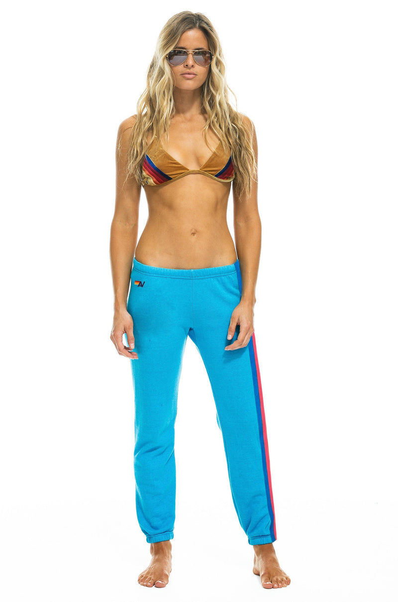 Neon 5 Stripe Sweatpants