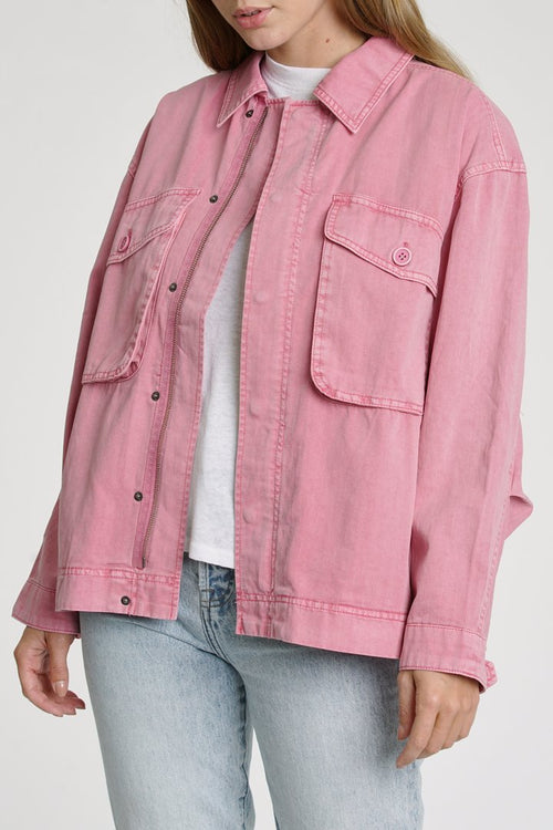 Allegra Utility Jacket Flamingo