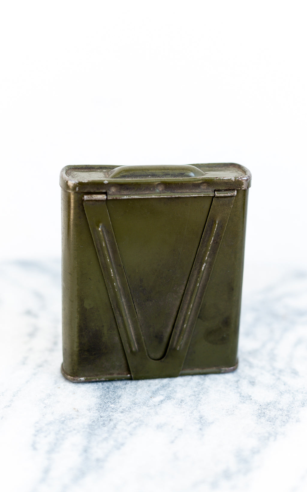 WW1 Cig Container in green