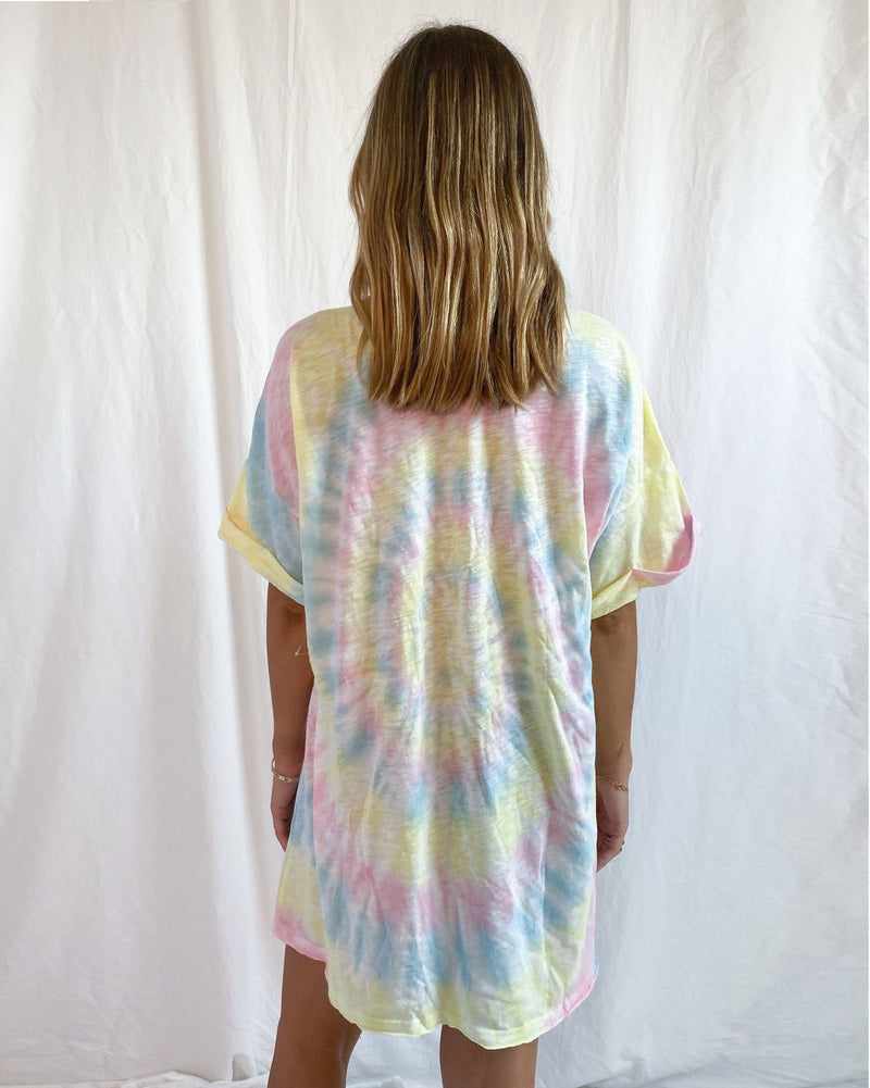 Dylan T Shirt Dress Rainbow