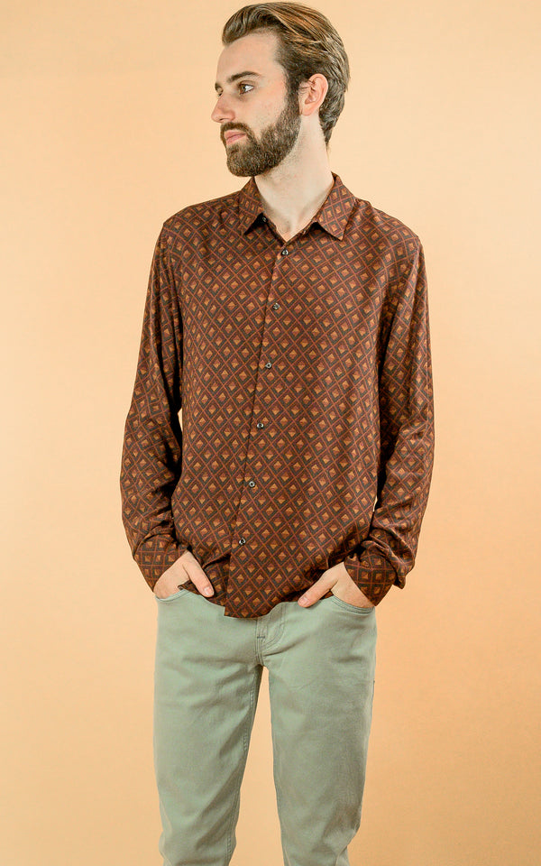 Viscose Printed Shirt