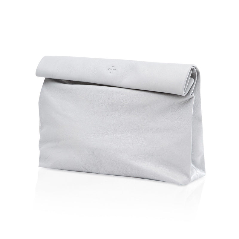 Lunch Clutch White