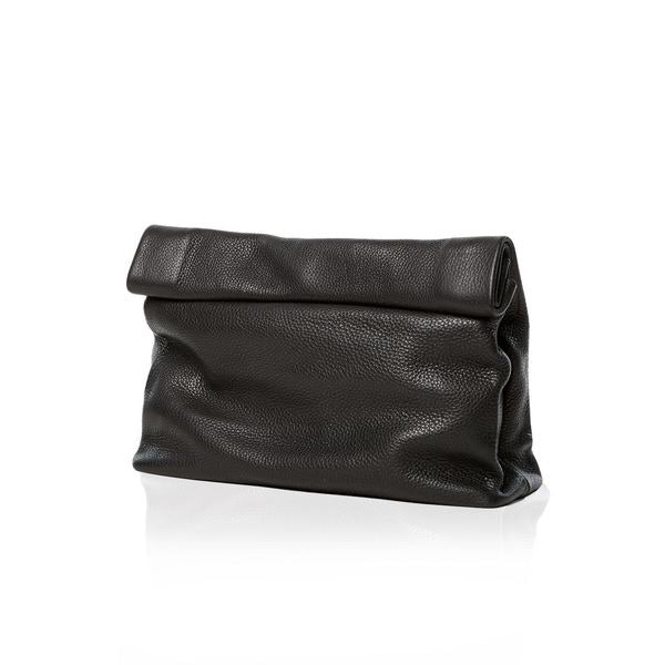 Dinner Clutch Pebble Black