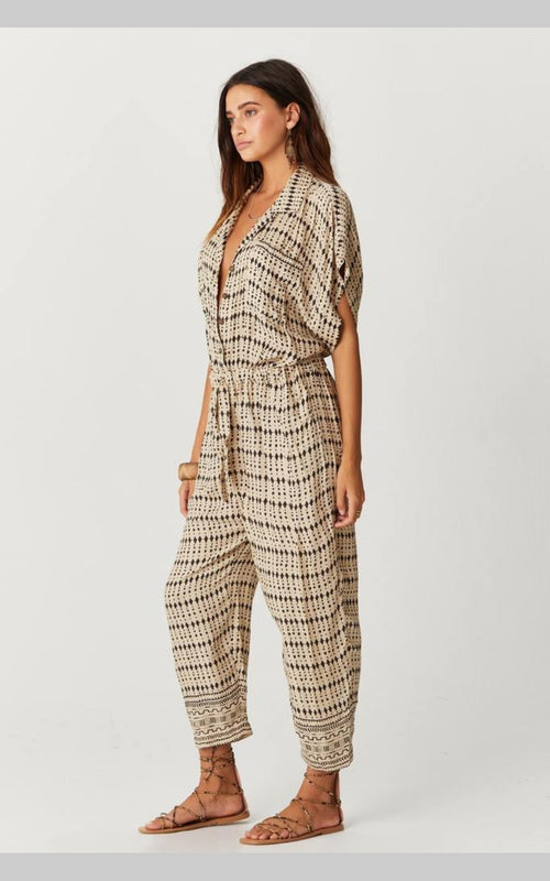 Coffee Jumpsuit