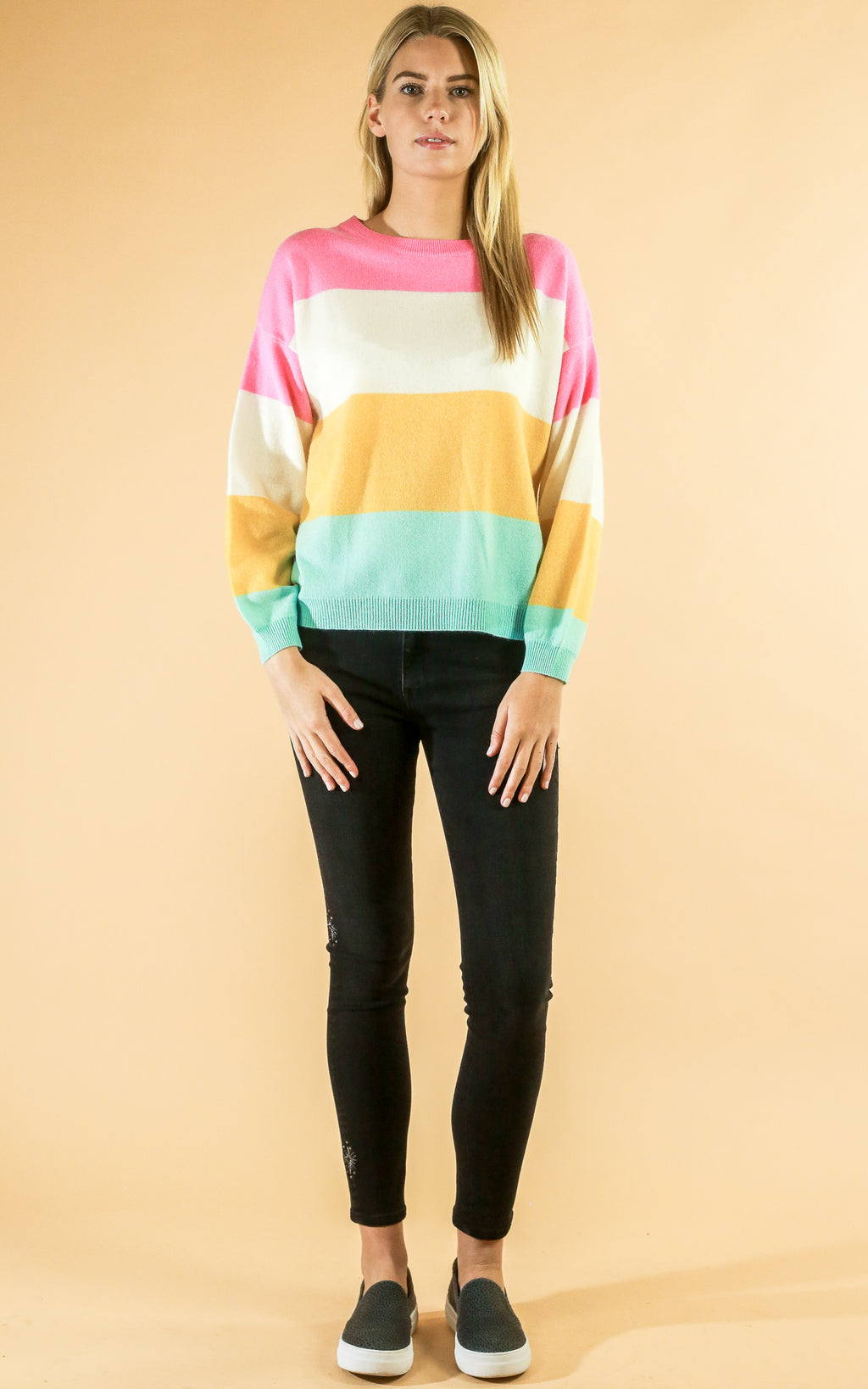 Colorful Stripe Sweater