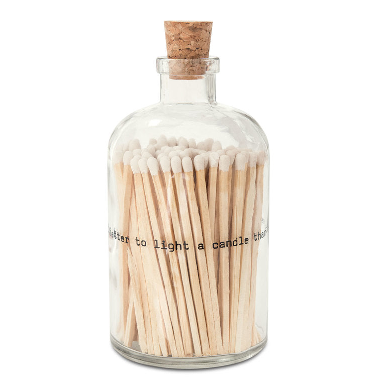 Large Match Jar