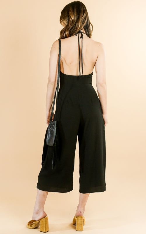 Julianne Jumpsuit - Whiskey & Leather