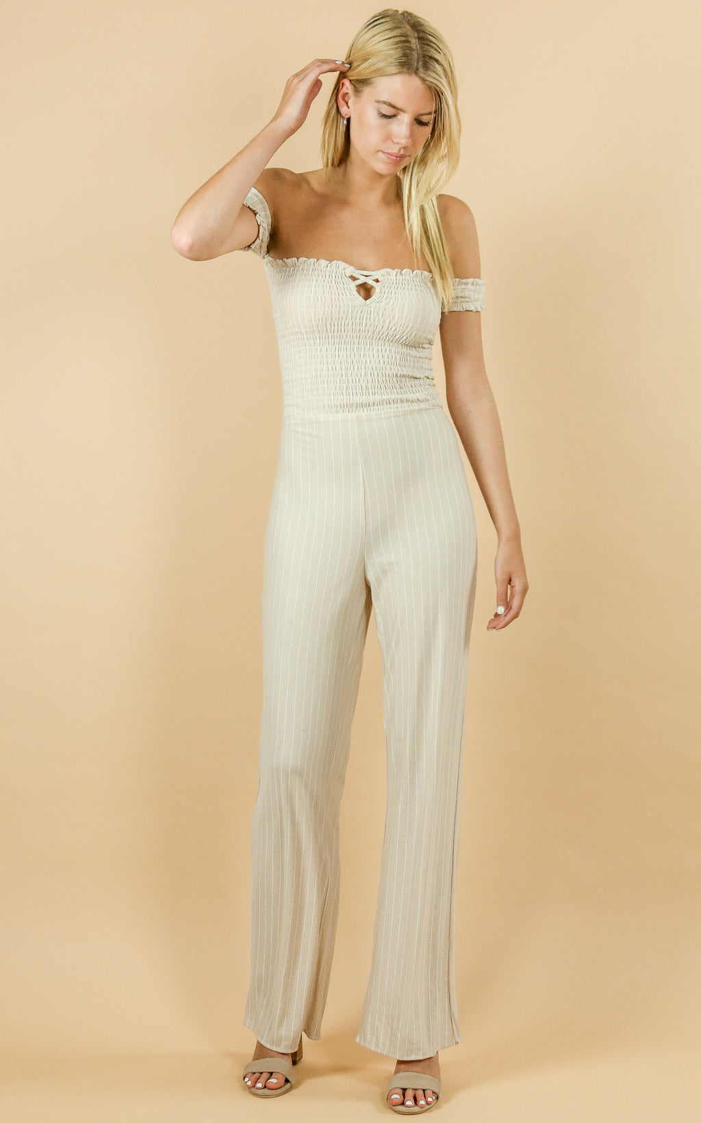 Wild One Strapless Jumpsuit