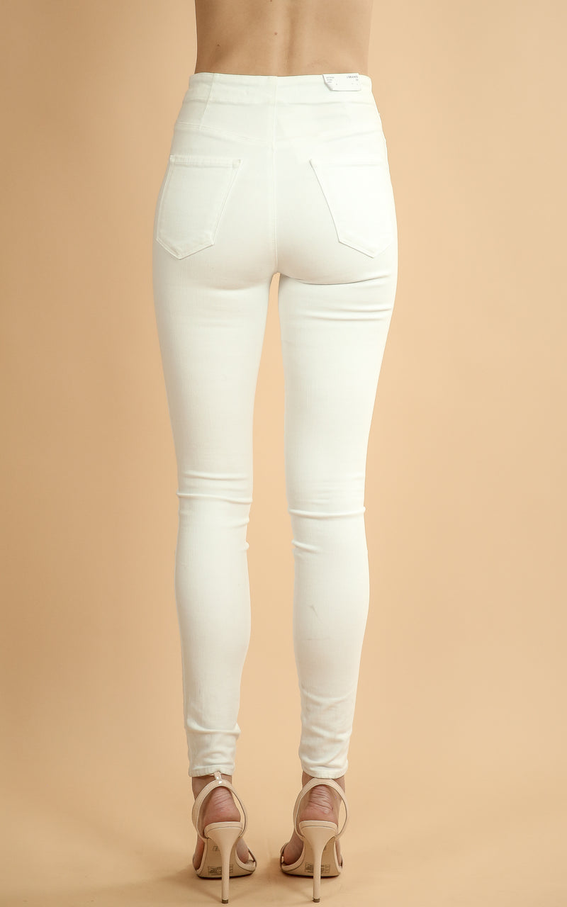 jbrand super skinny natasha in white