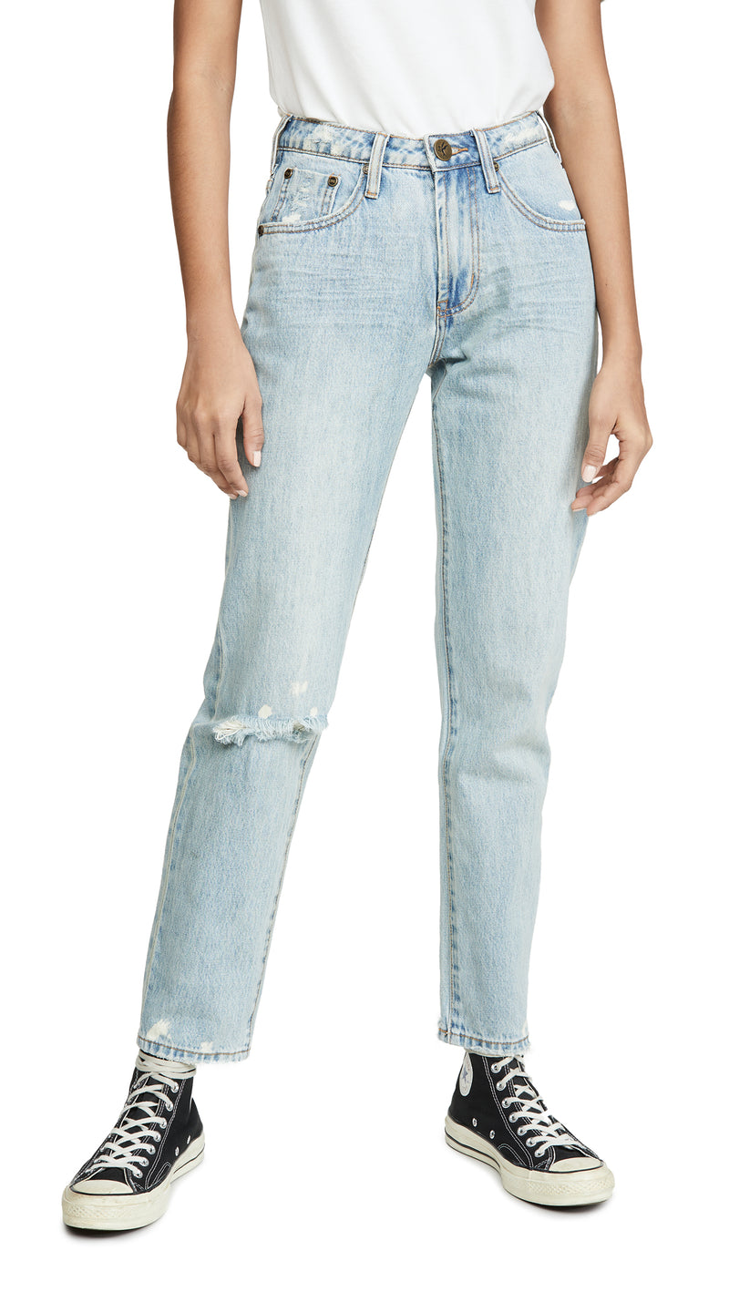 Kansas Awesome Baggies High Waist Straight Leg Jeans
