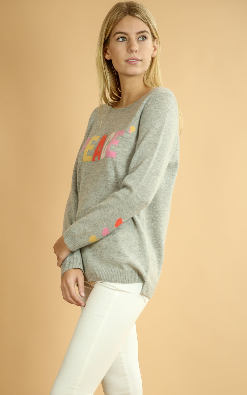 Peace Cashmere Sweater