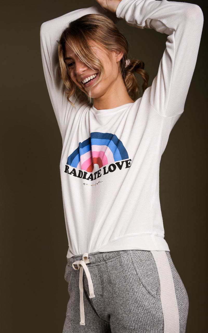 Radiate Crew Neck Savanna