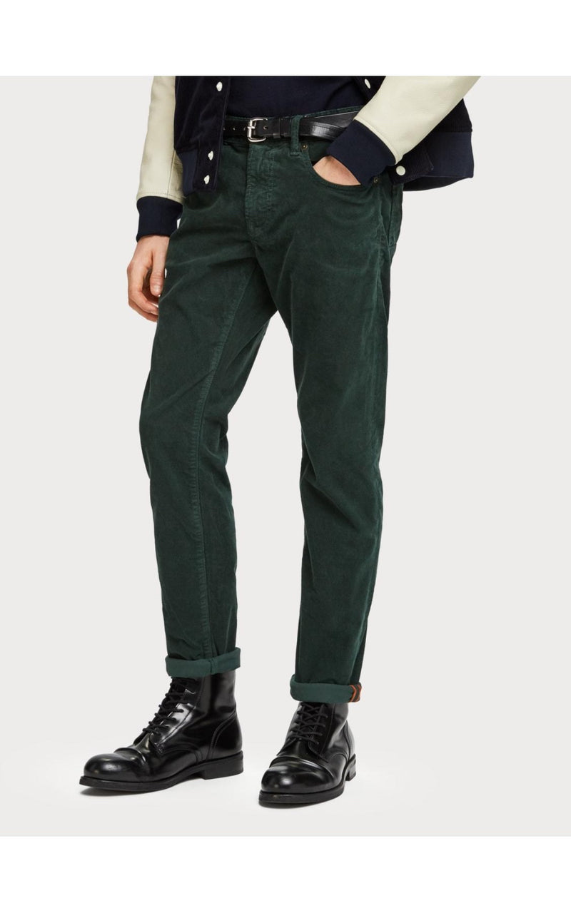 5-Pocket Corduroy Pant Green
