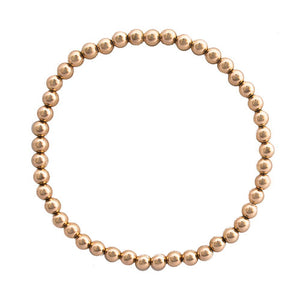 Isabella Ball Bracelet Rose Gold 3mm