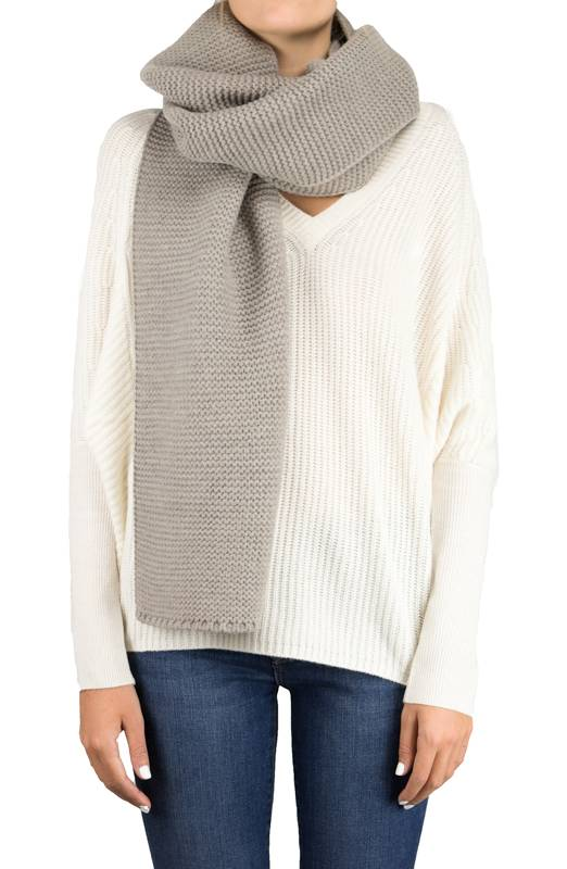 Isolde Knit Oatmeal - Whiskey & Leather